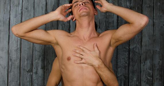 Male masturbation Naked Man
